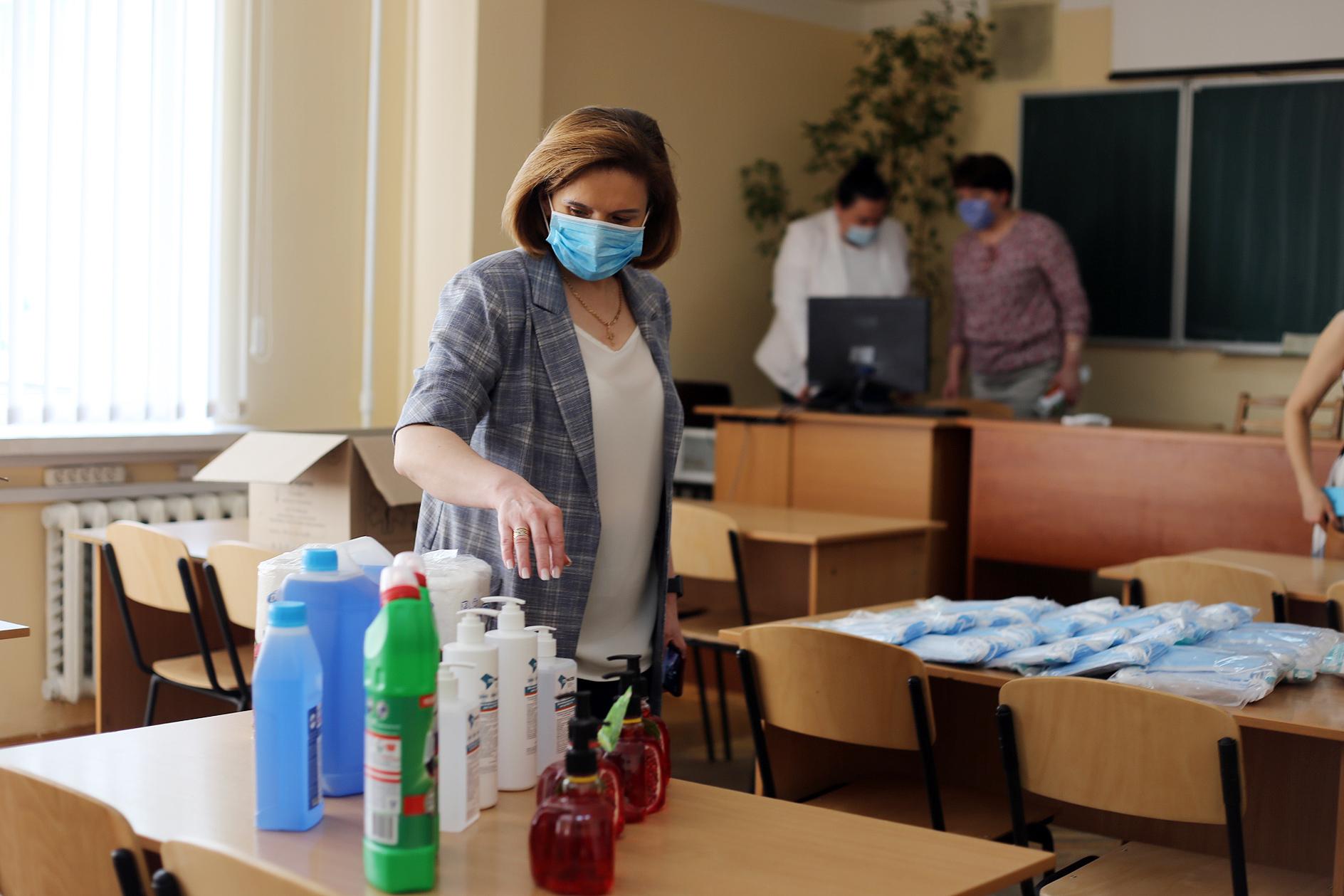 Любомира Мандзій: Епідеміологічна ситуація дозволяє провести ЗНО-2020 25 червня – 17 липня, пункти тестування готові провести його у безпечних умовах