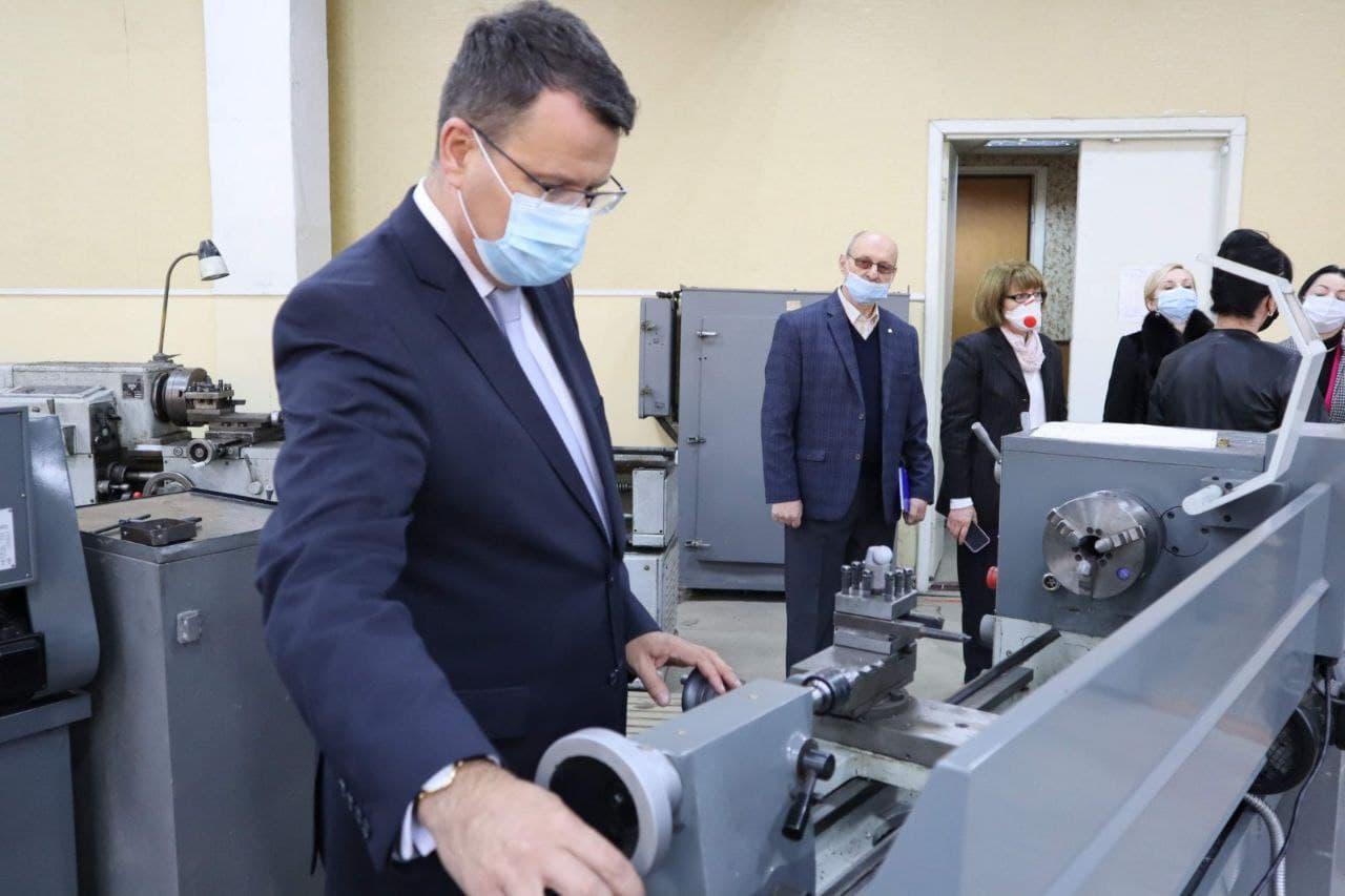 З робочим візитом у Закарпатській області перебуває  заступник міністра освіти і науки Ігор Гарбарук